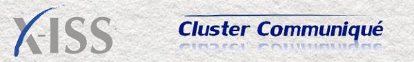 X-ISS Cluster Communique